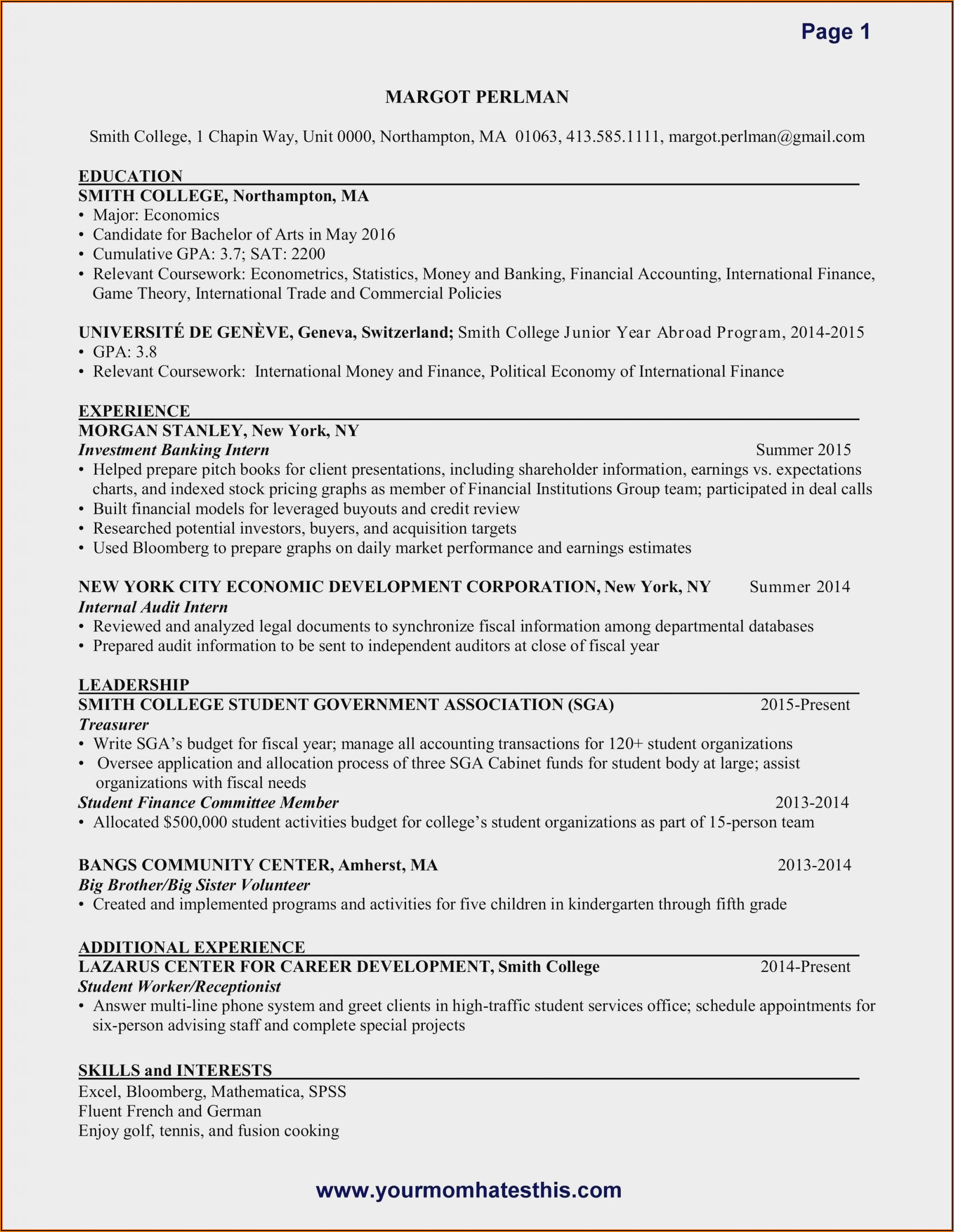 Resume Examples For Nurses Assistant