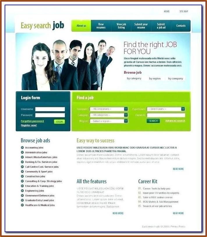 Staffing Website Templates