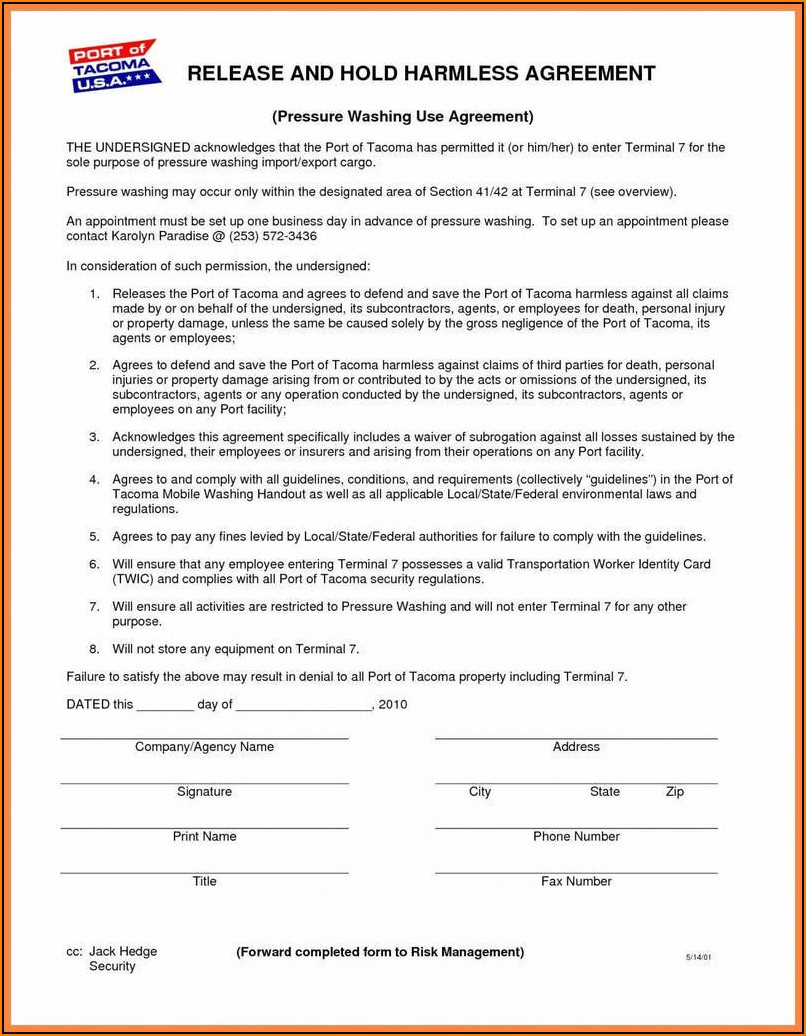 Subcontractor Agreement Template Pdf