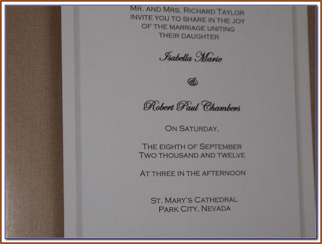 Wilton Invitation Templates