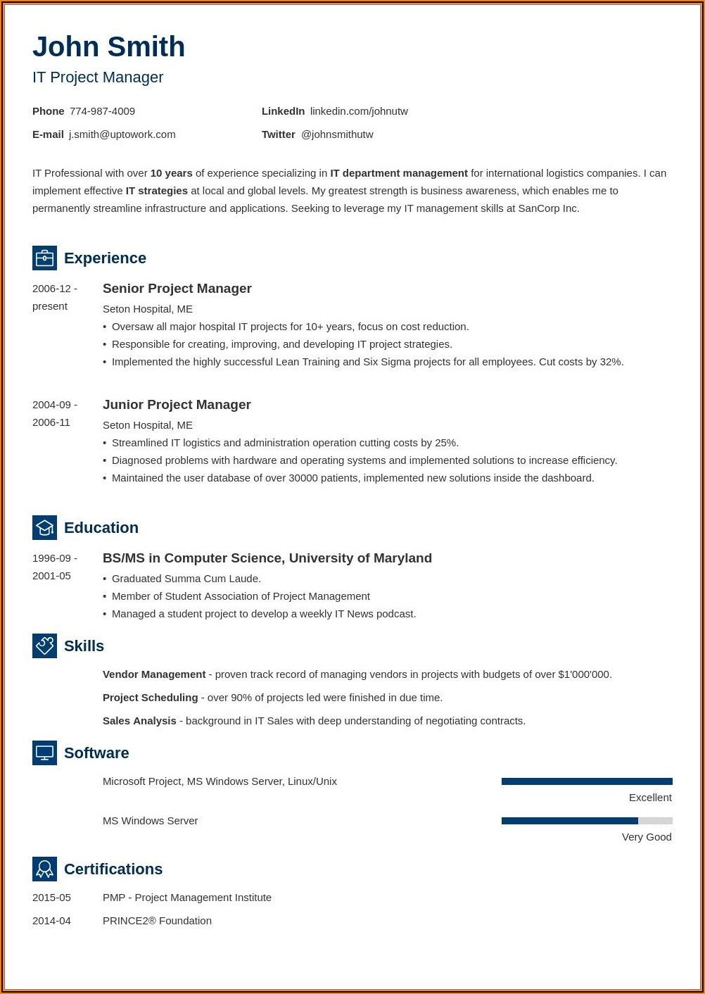 Word Templates For Resume Download