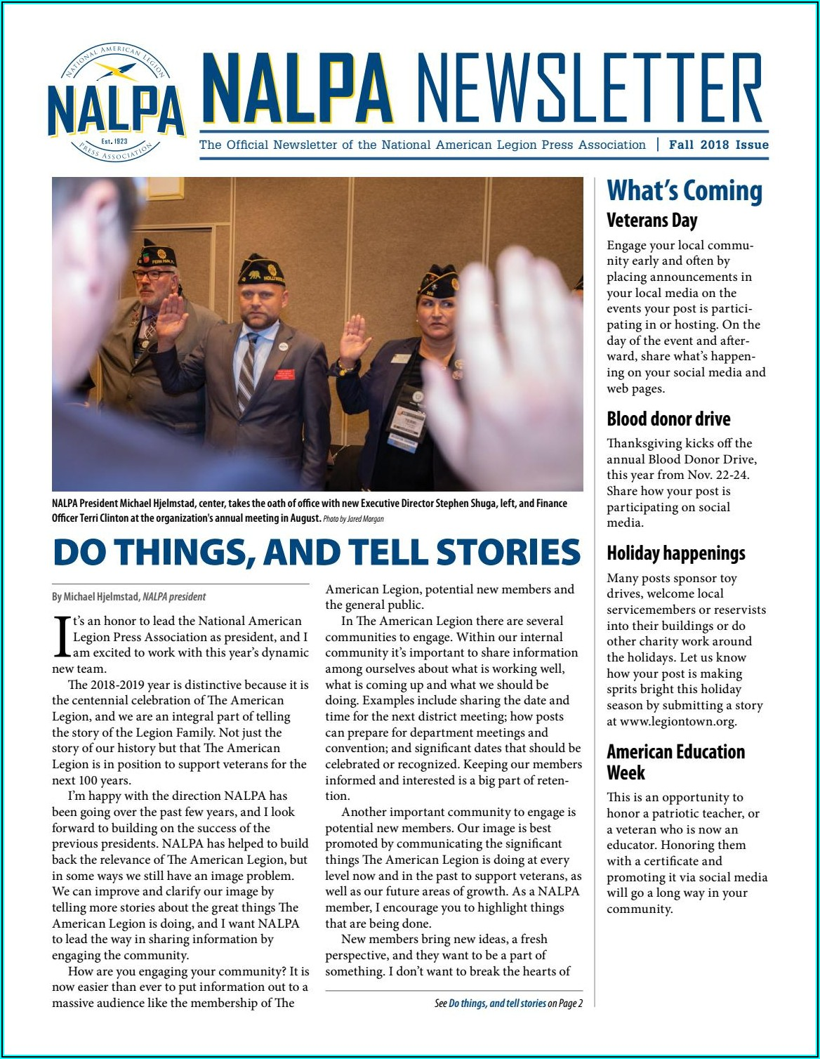 American Legion Newsletter Template