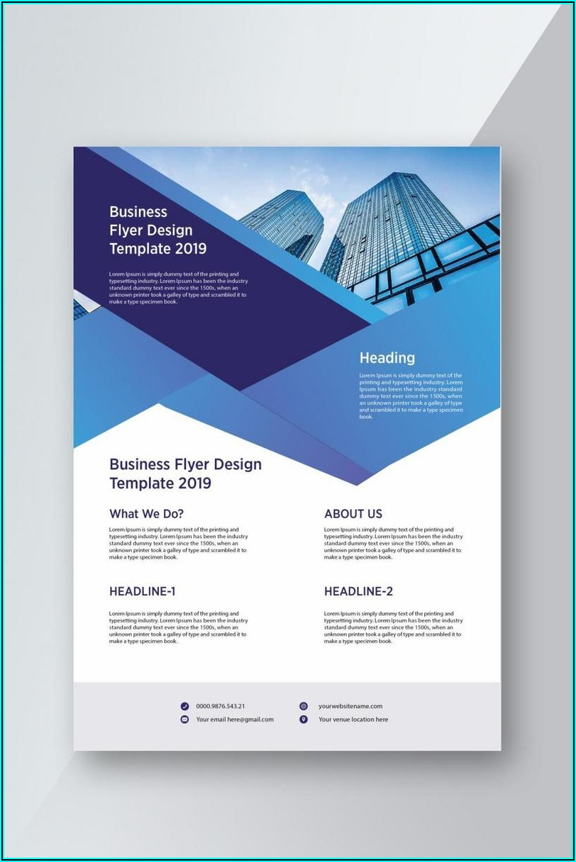 Business Flyer Templates Free Printable