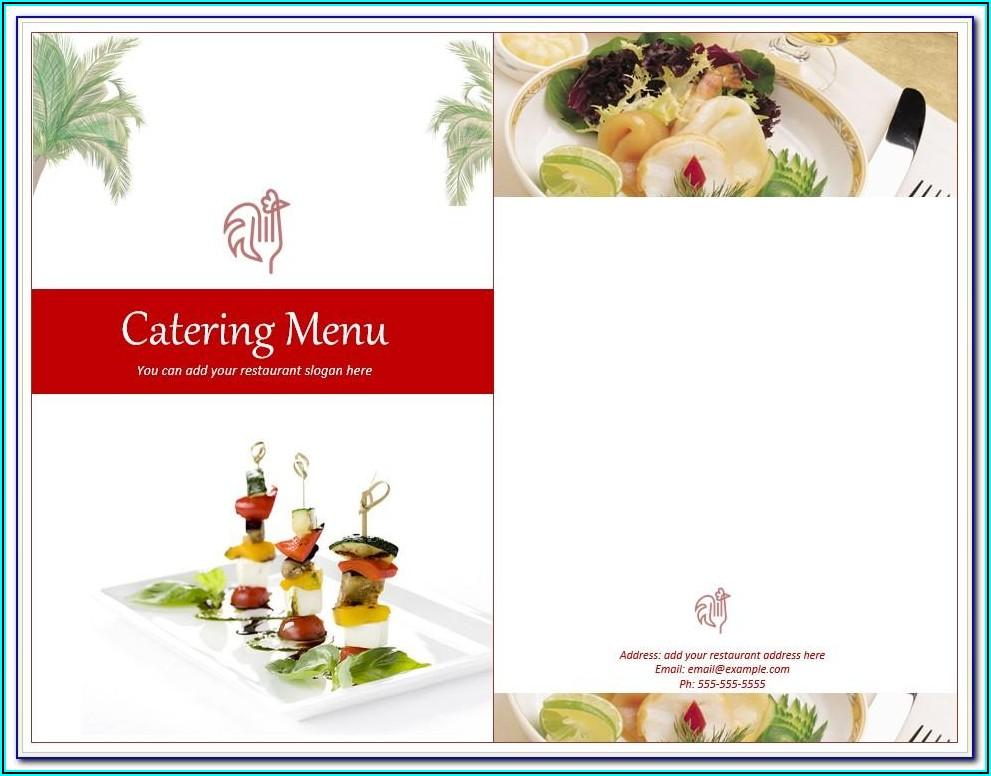 Catering Bid Template Free
