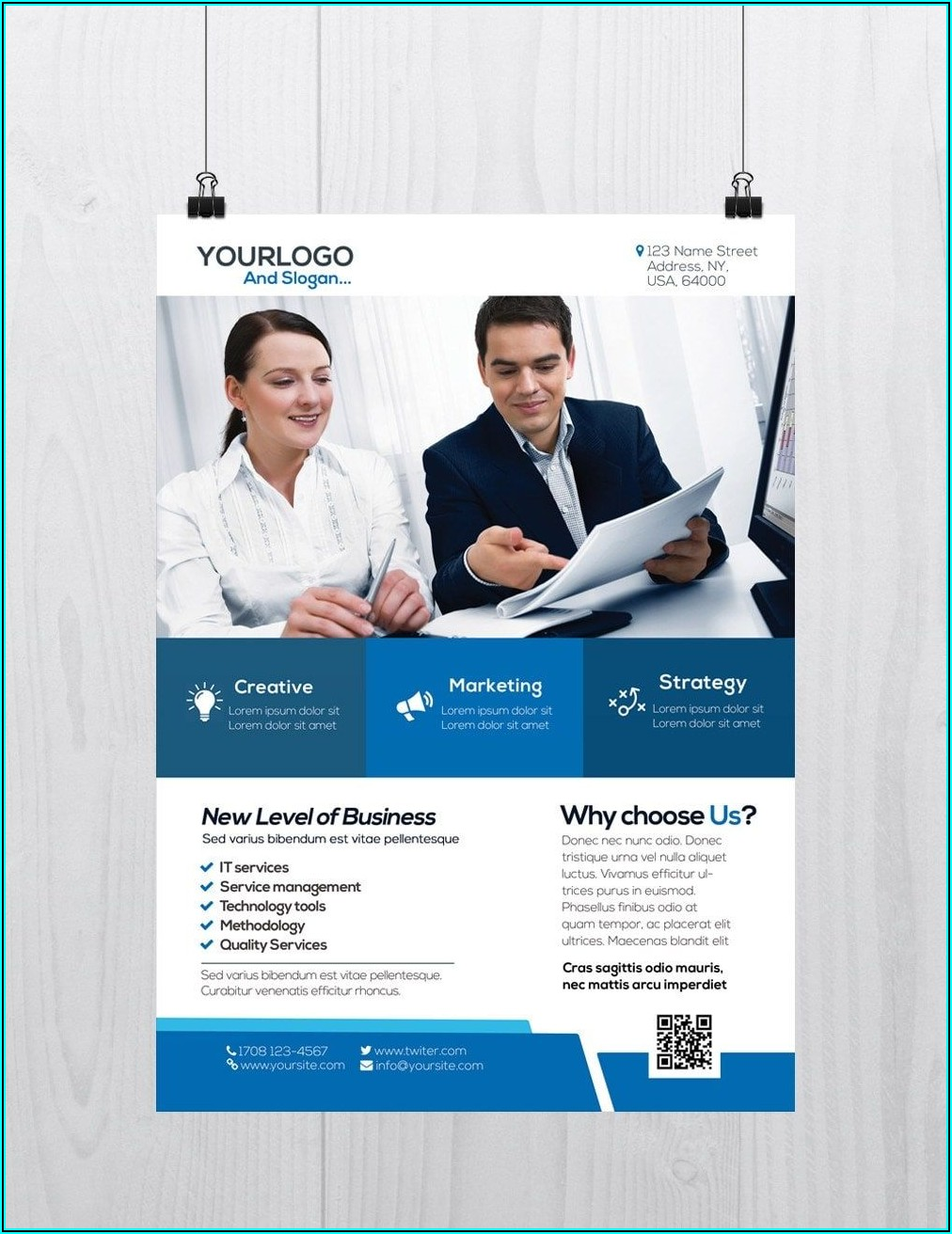 Corporate Flyers Templates Free