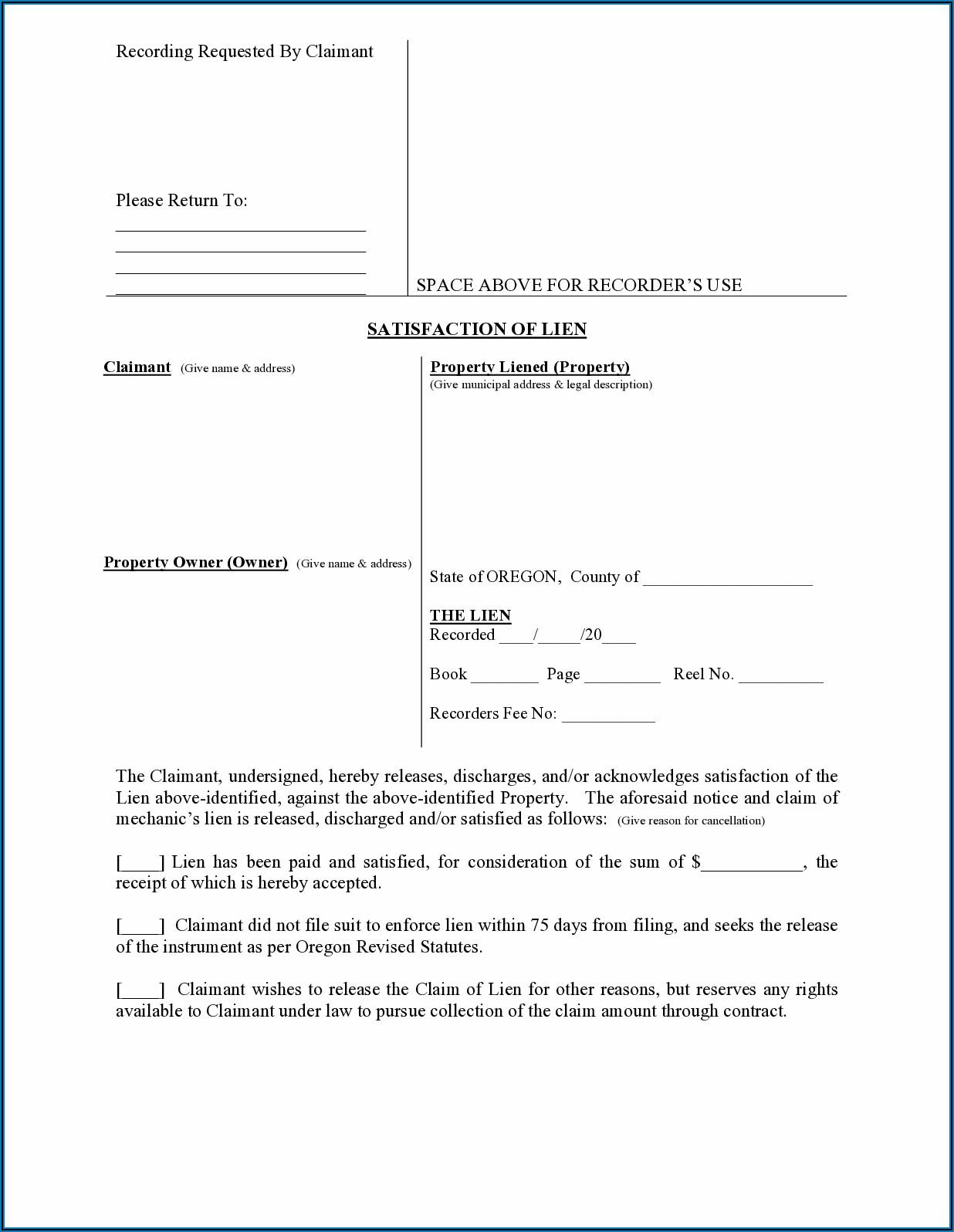 Divorce Forms Lane County Oregon