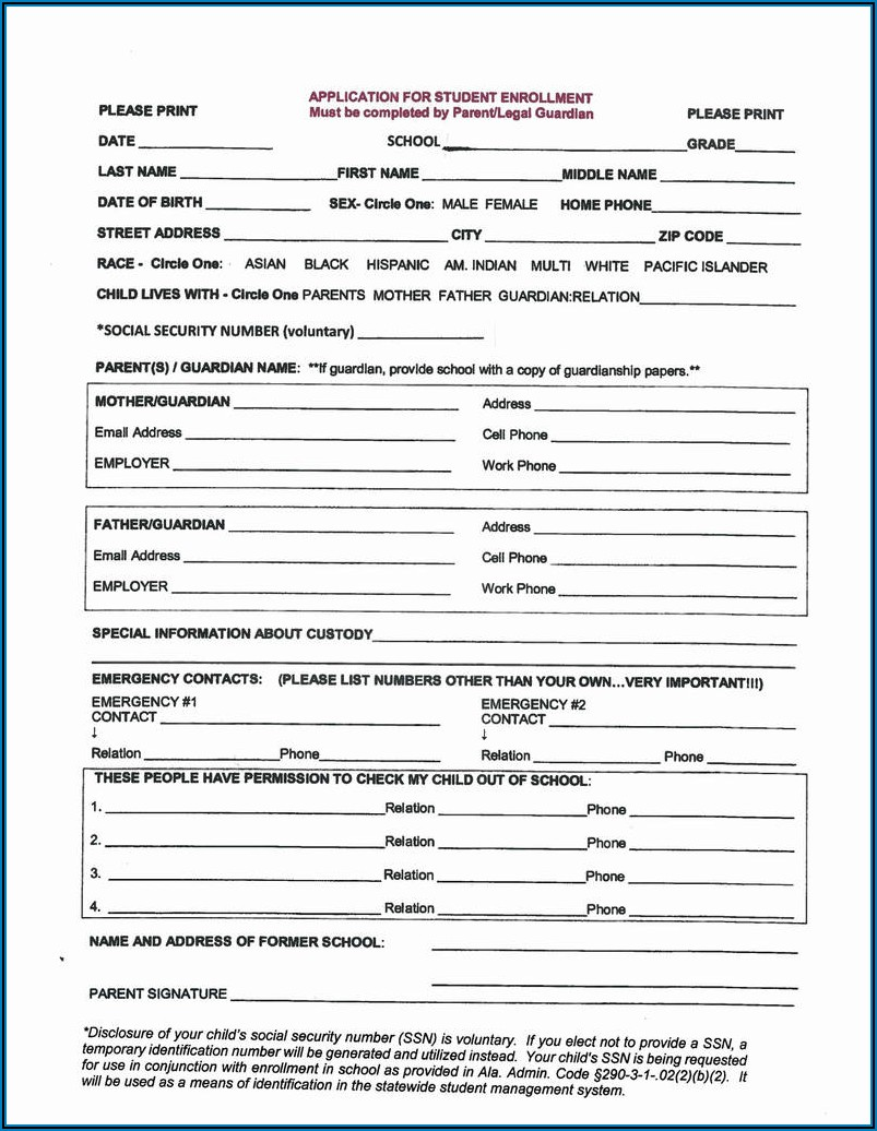 Emergency Temporary Custody Form Texas