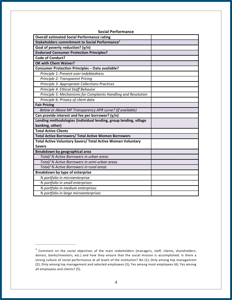 Enhanced Due Diligence Form Template