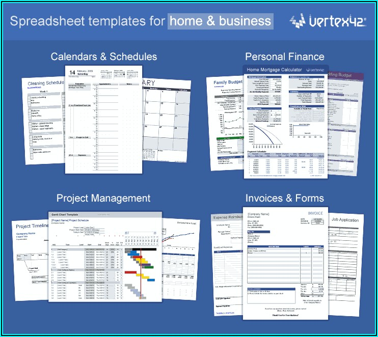 Excel Spreadsheets Templates