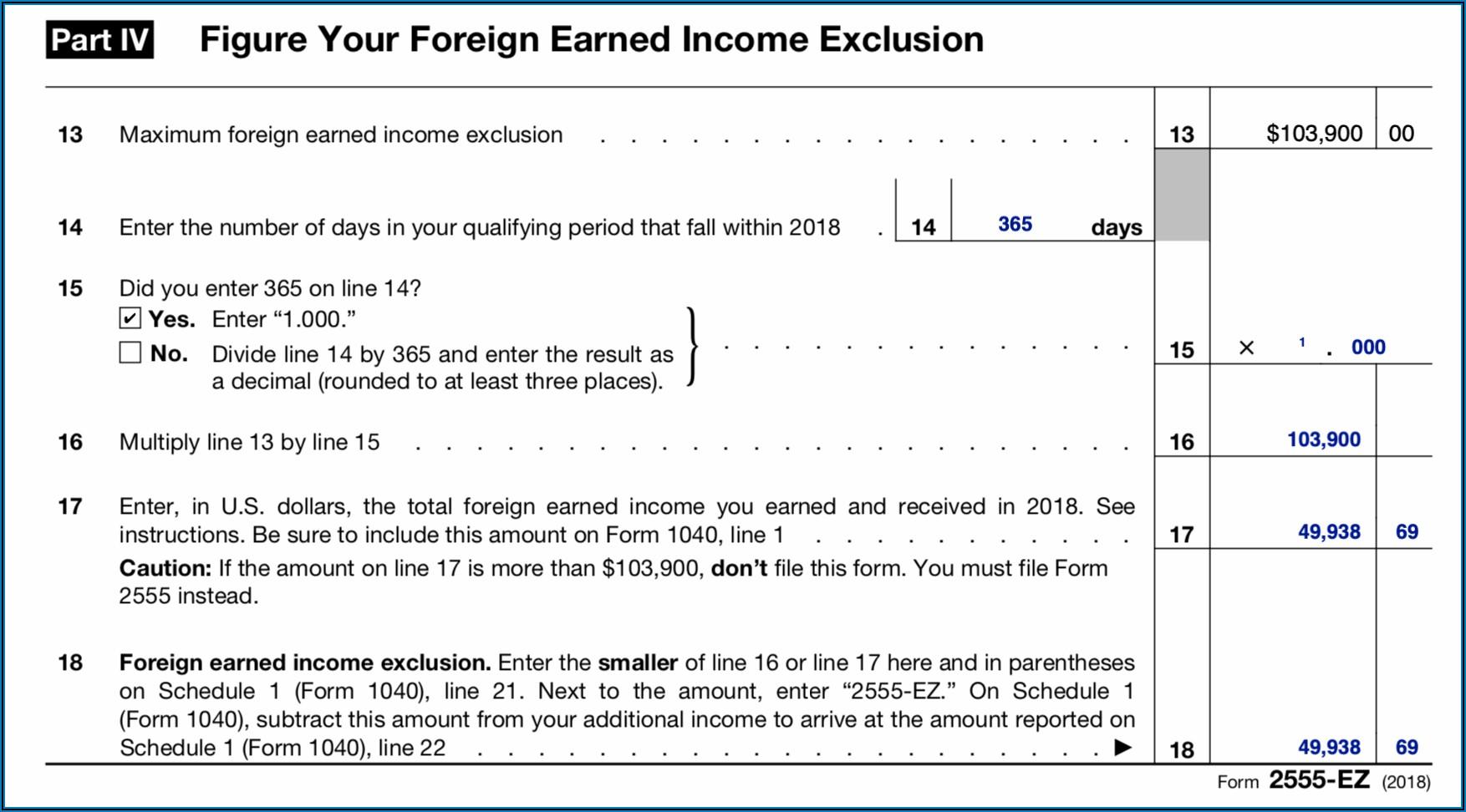 Ez Form Taxes