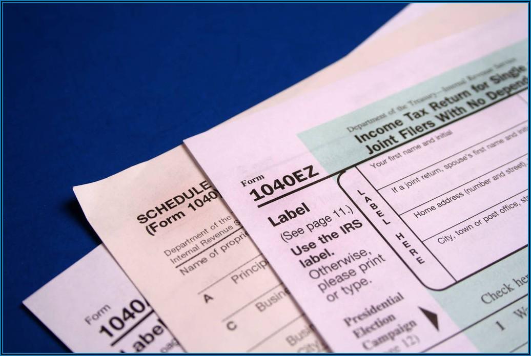 Federal Tax Form 1040ez 2017