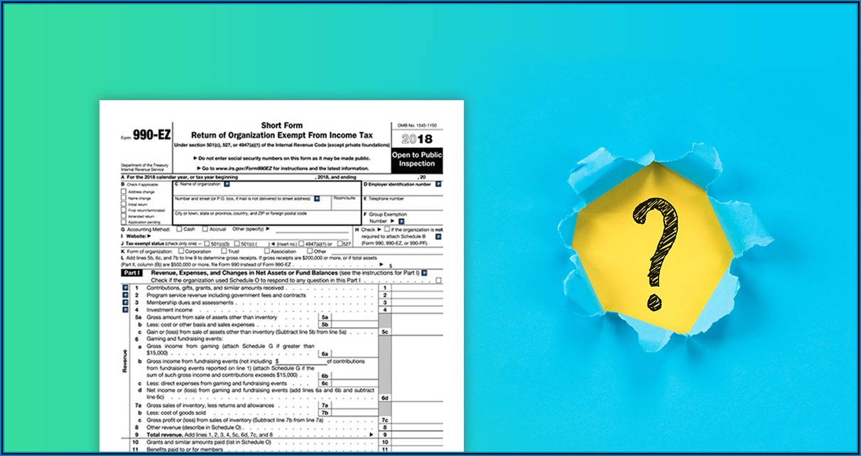 Form 990 Filing Requirements