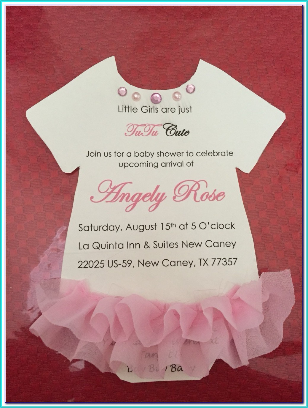 Free Baby Q Invitations Templates