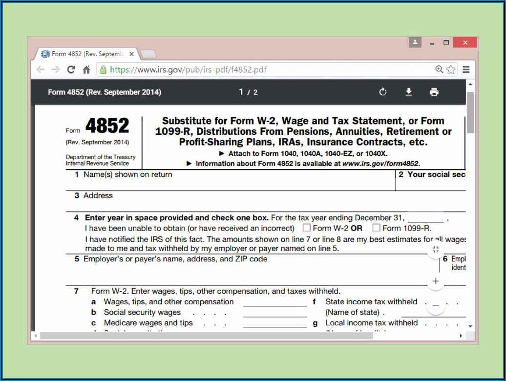 Free File Fillable Forms R=h Www.irs.gov