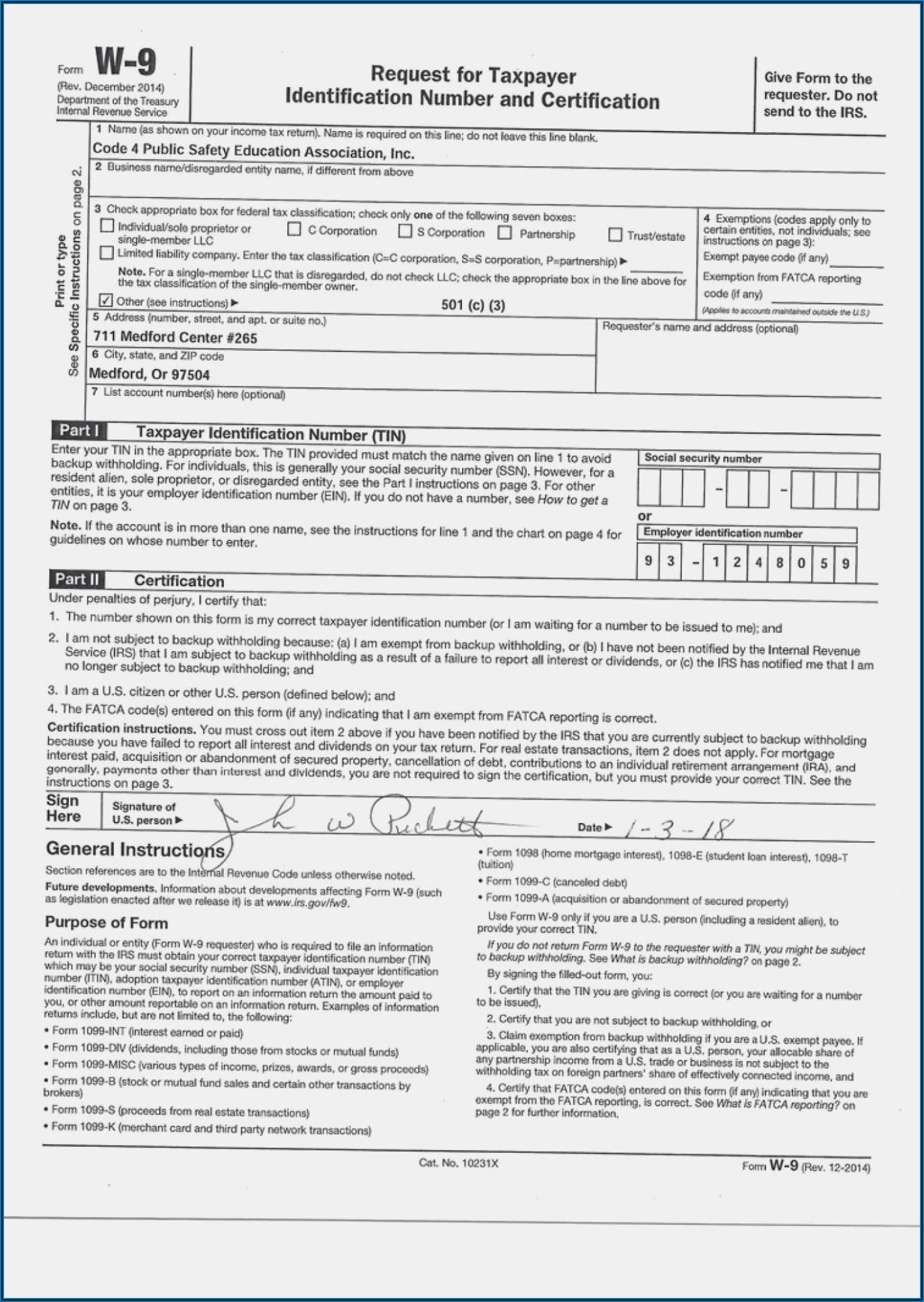 Free Fillable W 9 Form 2020 Pdf