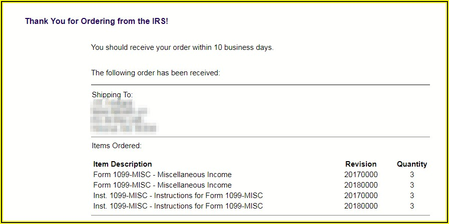 Get 1099 Forms From Irs