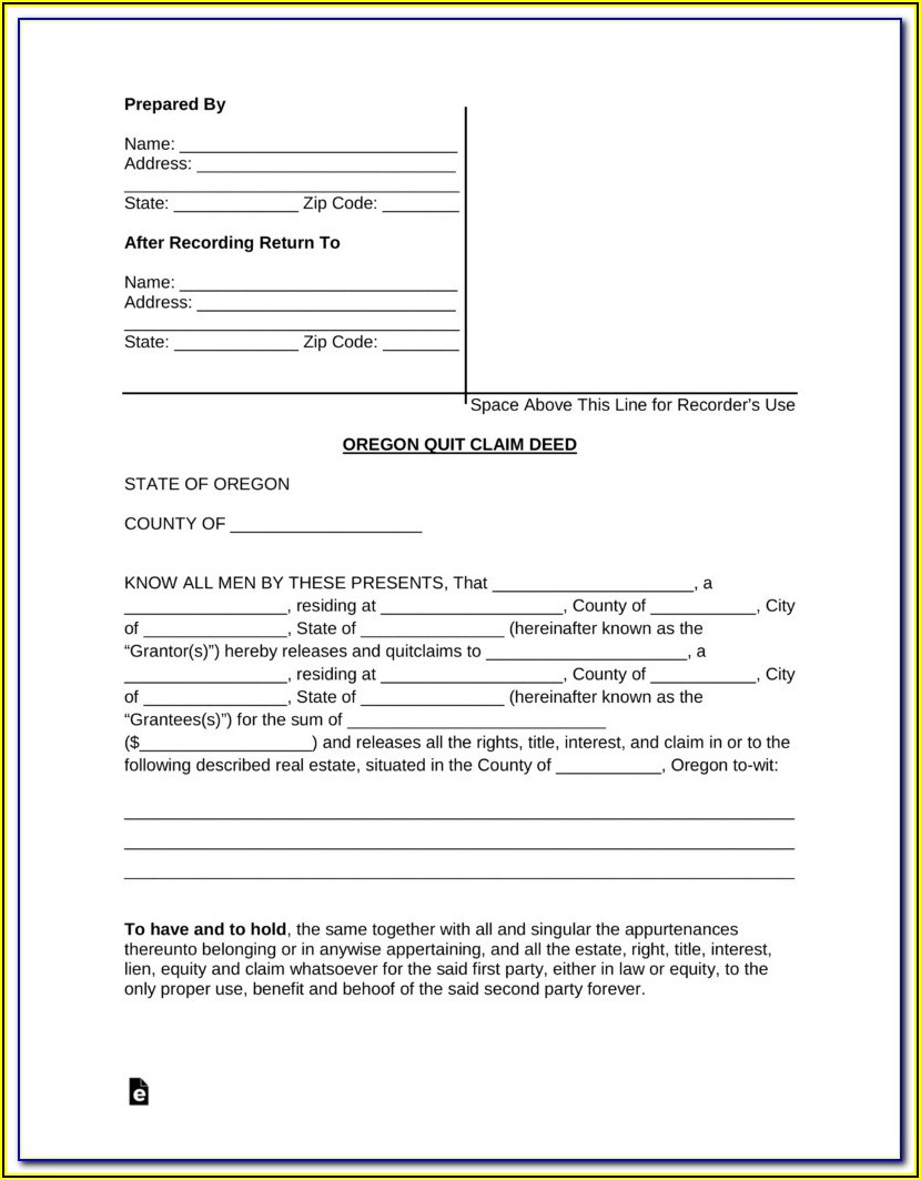 Grant Deed Form San Francisco County