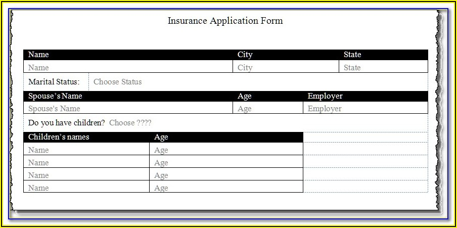 How To Create A Fillable Pdf Form From Excel