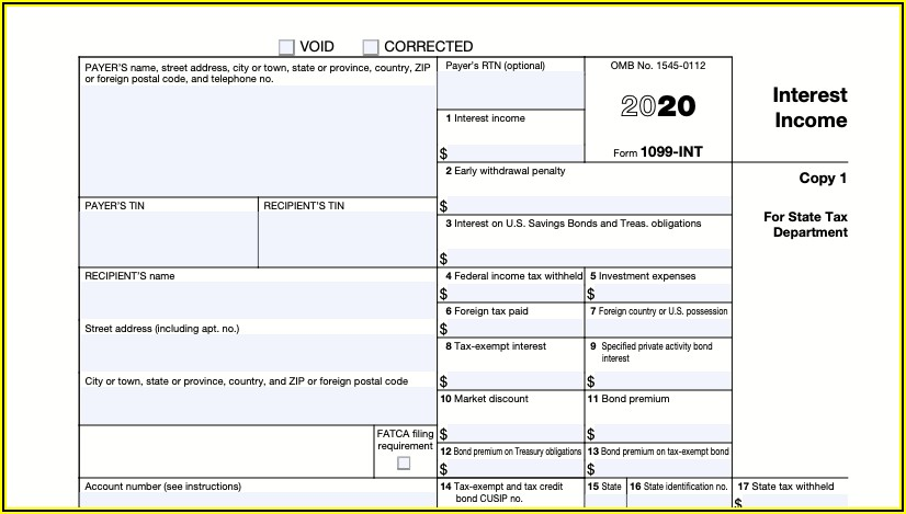How To Fill Out 1099 Form 2020