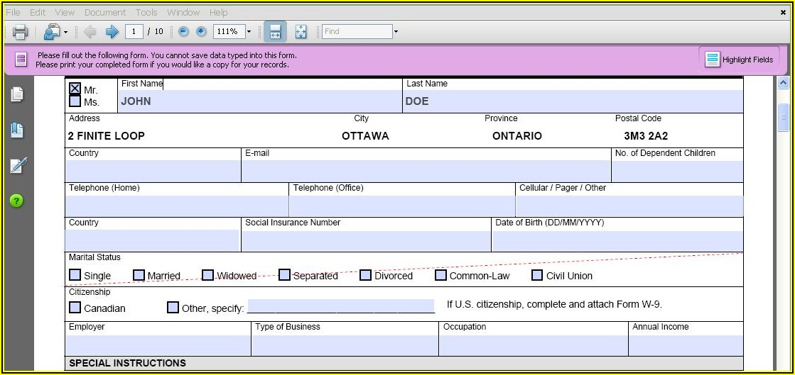 How To Make A Fillable Pdf Form From Excel