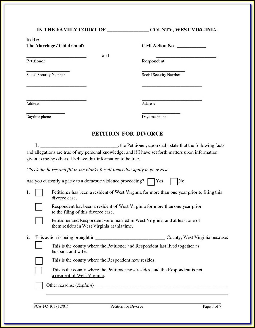 Idaho Probate Court Forms