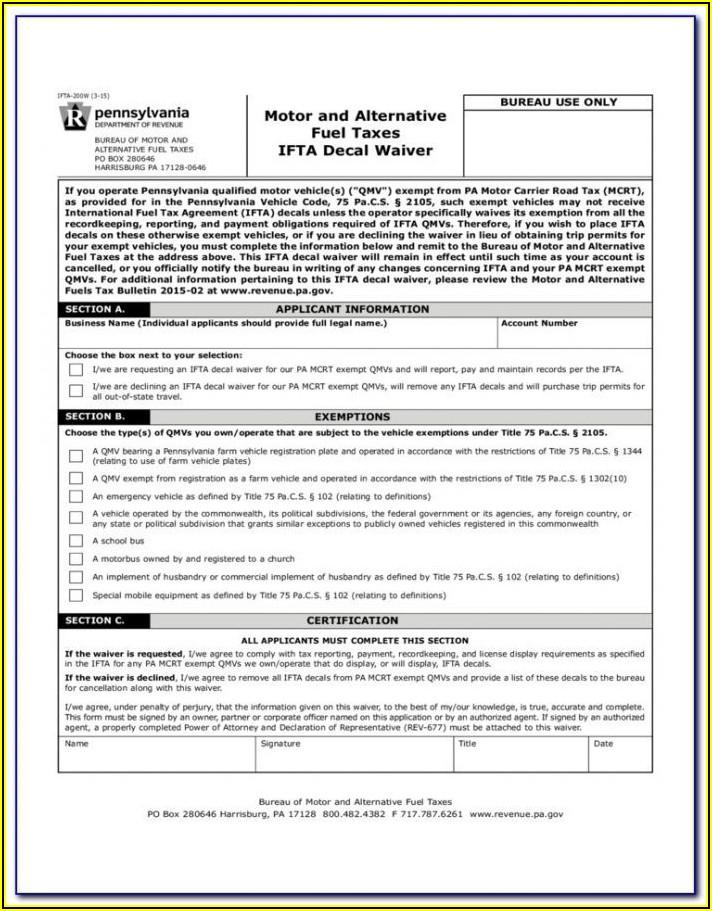 Ifta Quarterly Report Form