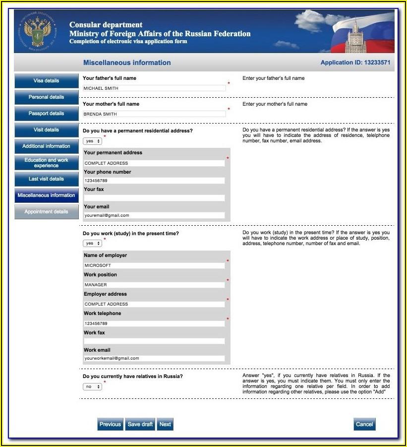 Indian Visa Application Form For British Citizens