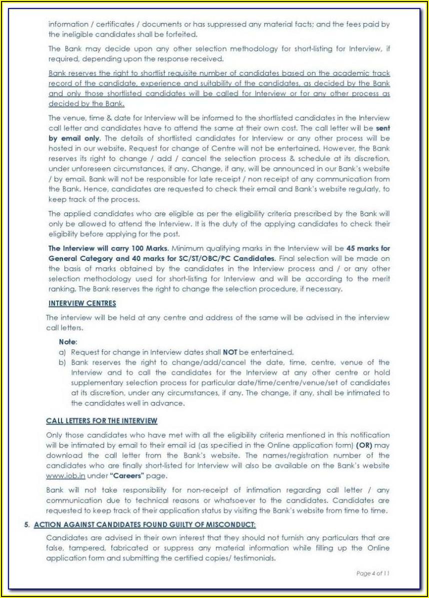 Iob Net Banking Online Registration Form