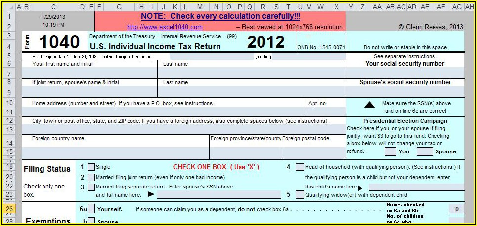 Irs 2013 Form 1040 Schedule Se