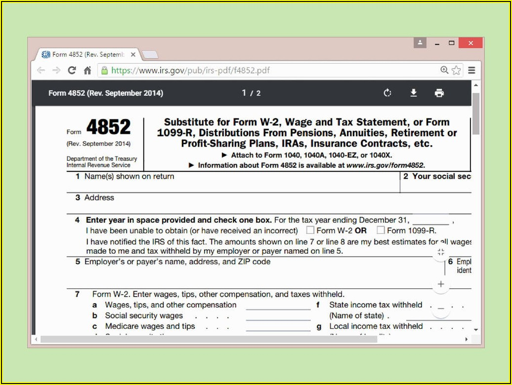 Irs Form 1040 Schedule C 2014