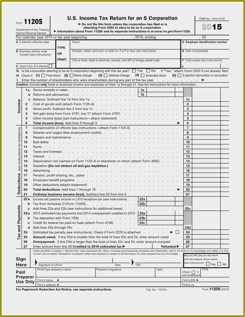 Irs Form 1120 H 2013