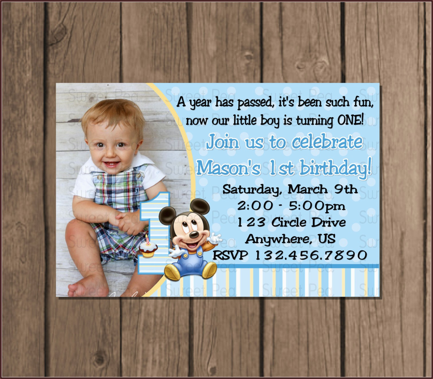 1st Birthday Boy Invitation Message In Marathi