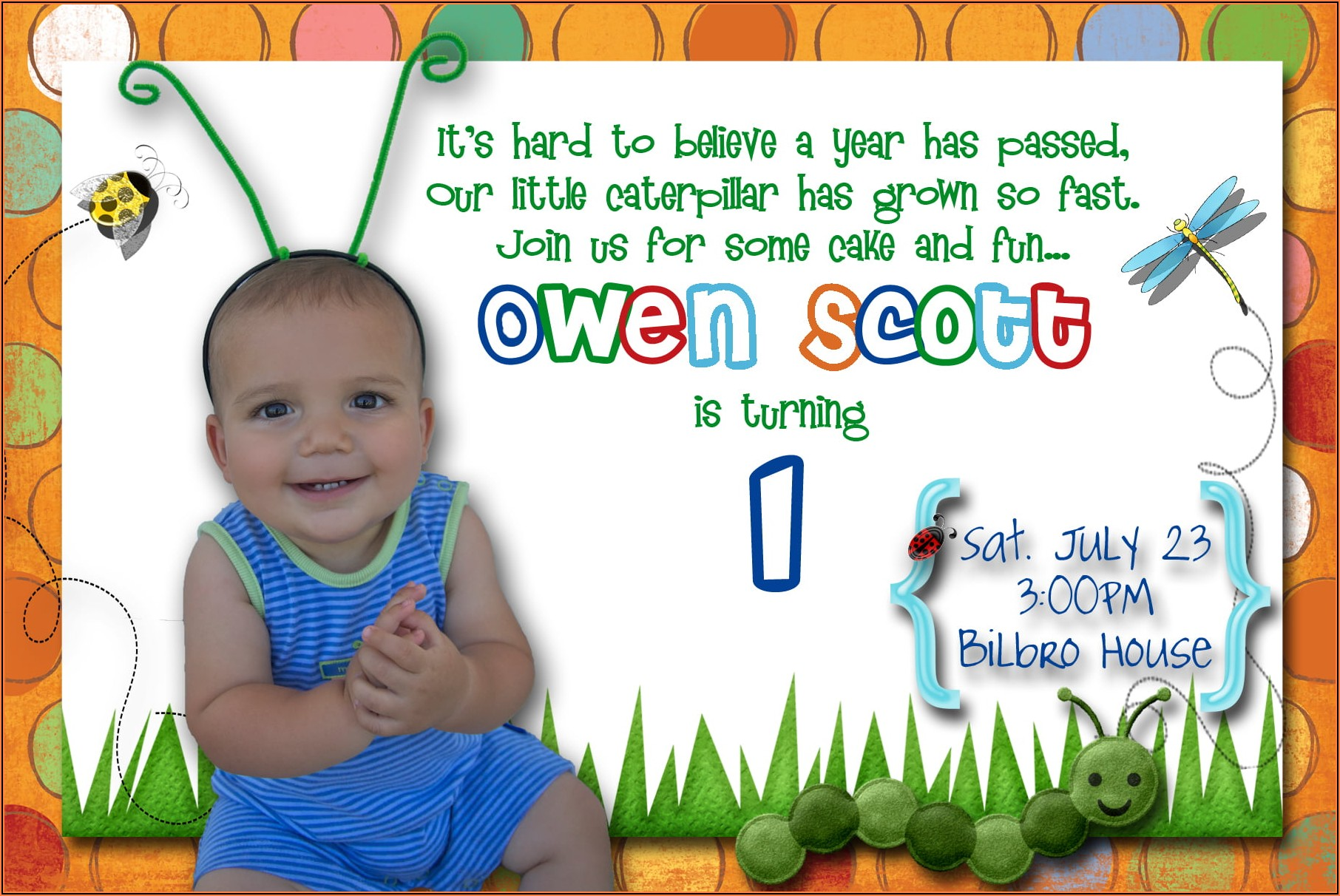1st Birthday Invitation Card For Baby Boy Indian