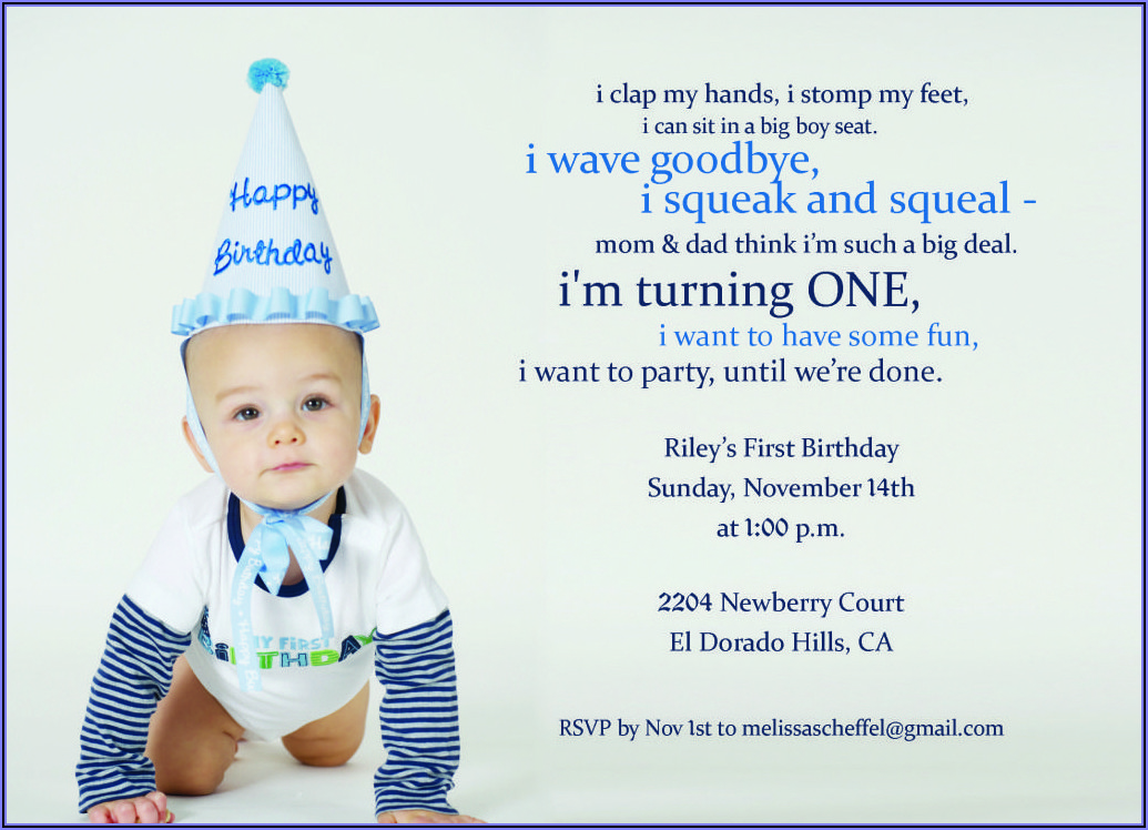 1st Birthday Invitation Message In Hindi