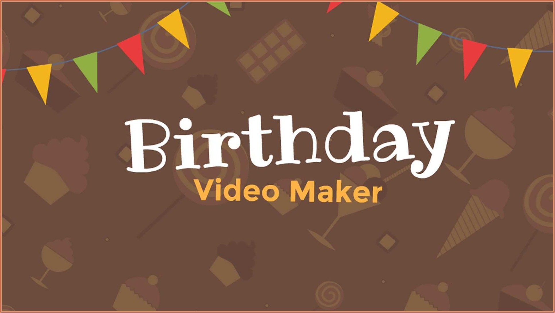 1st Birthday Invitation Video Template Free