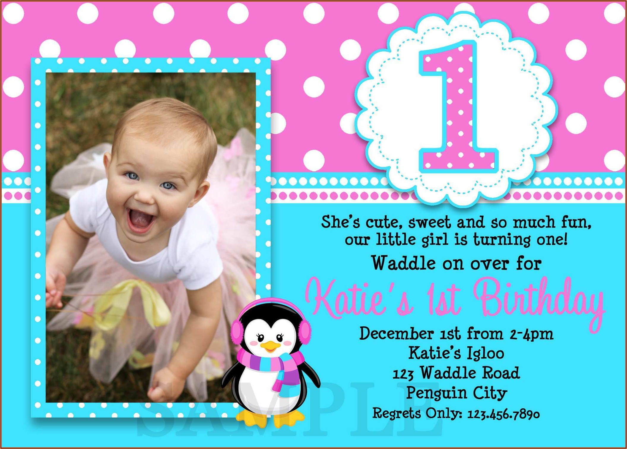 1st Birthday Invitation Wording In Kannada