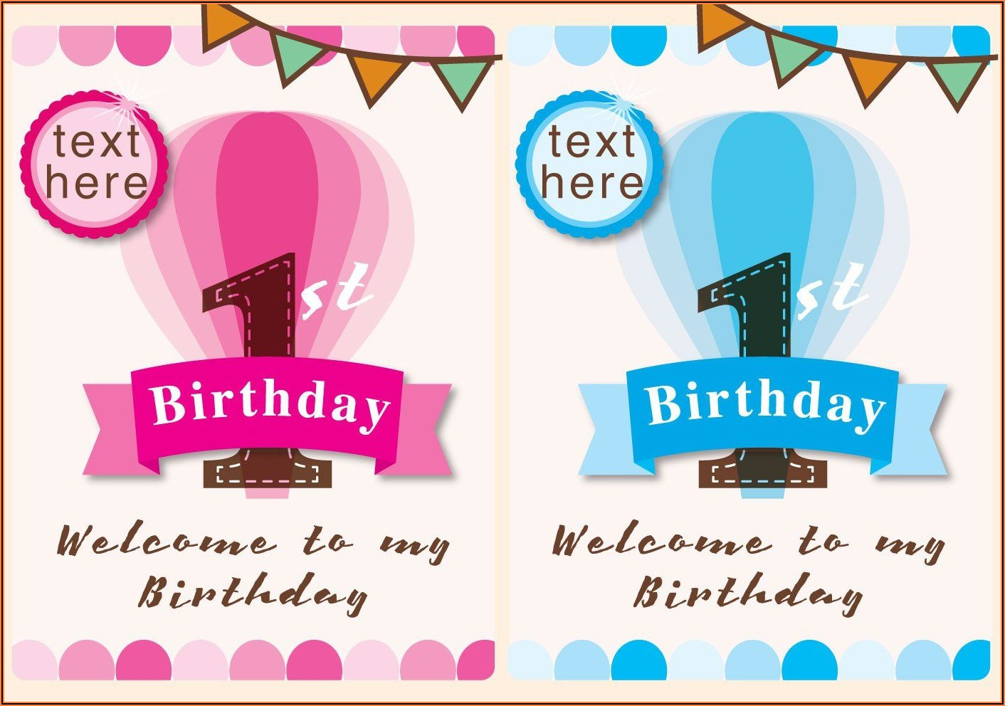 1st Birthday Invitation Wording Samples In Tamil