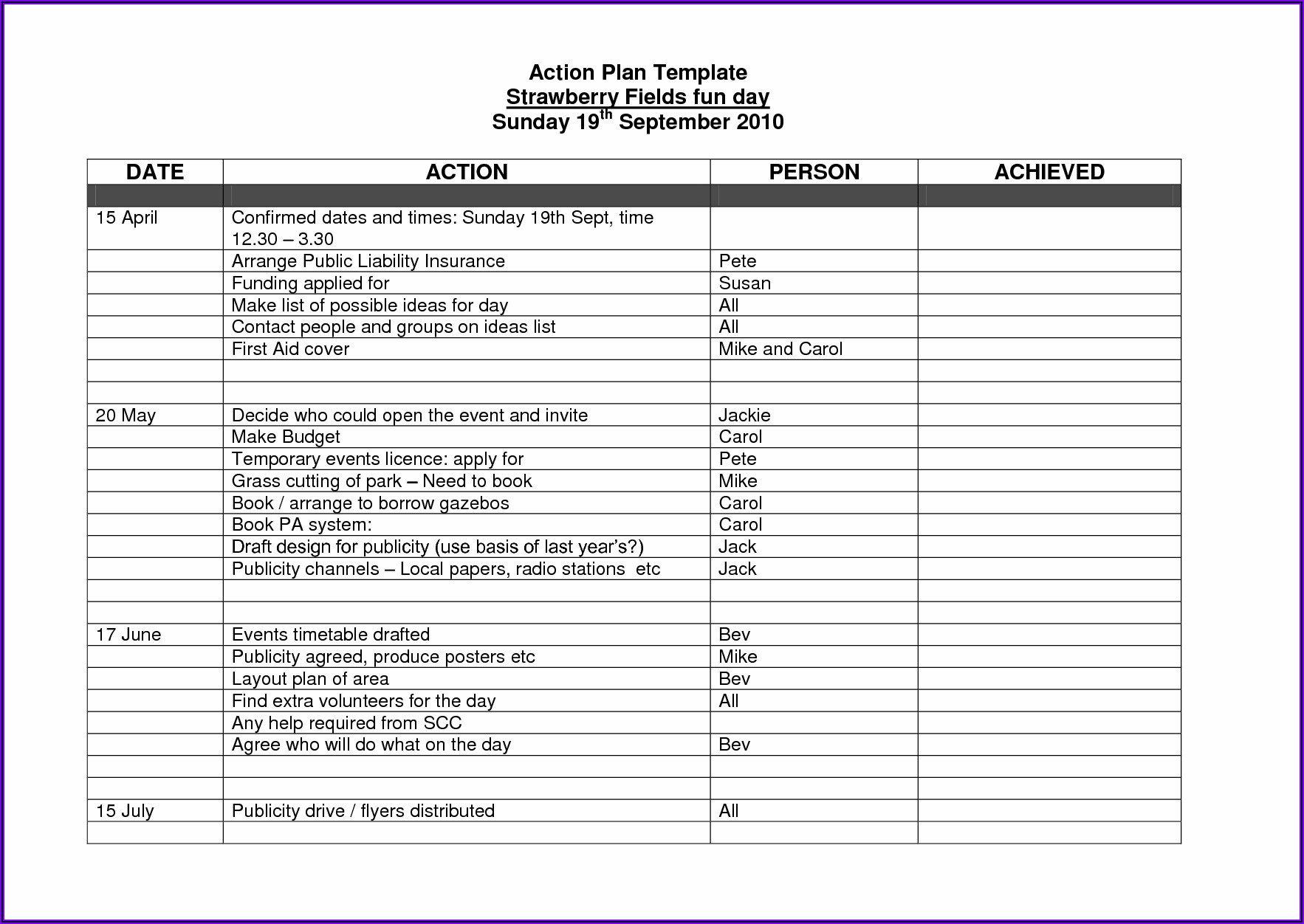 30 60 90 Day Business Plan Template For Interview