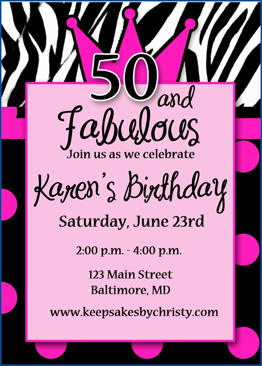 30th Birthday Invitations For Him Free
