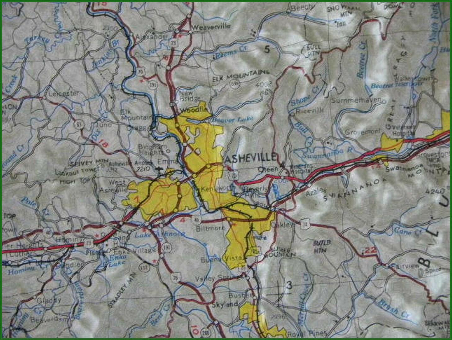3d Relief Map Online