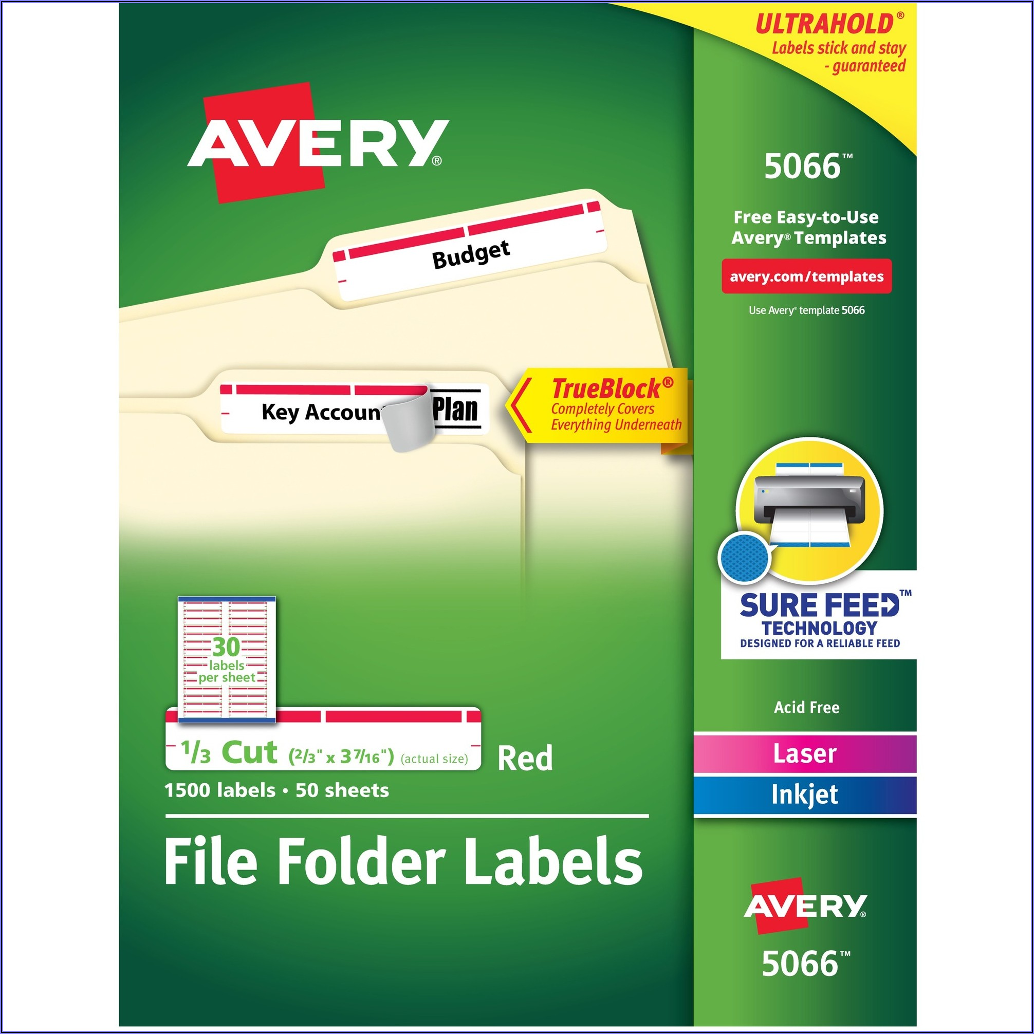 3×3 Label Template