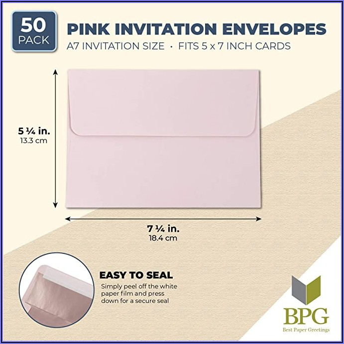5x7 Invitation Envelopes Michaels