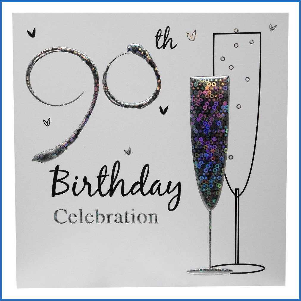 90th Birthday Party Invitations Online