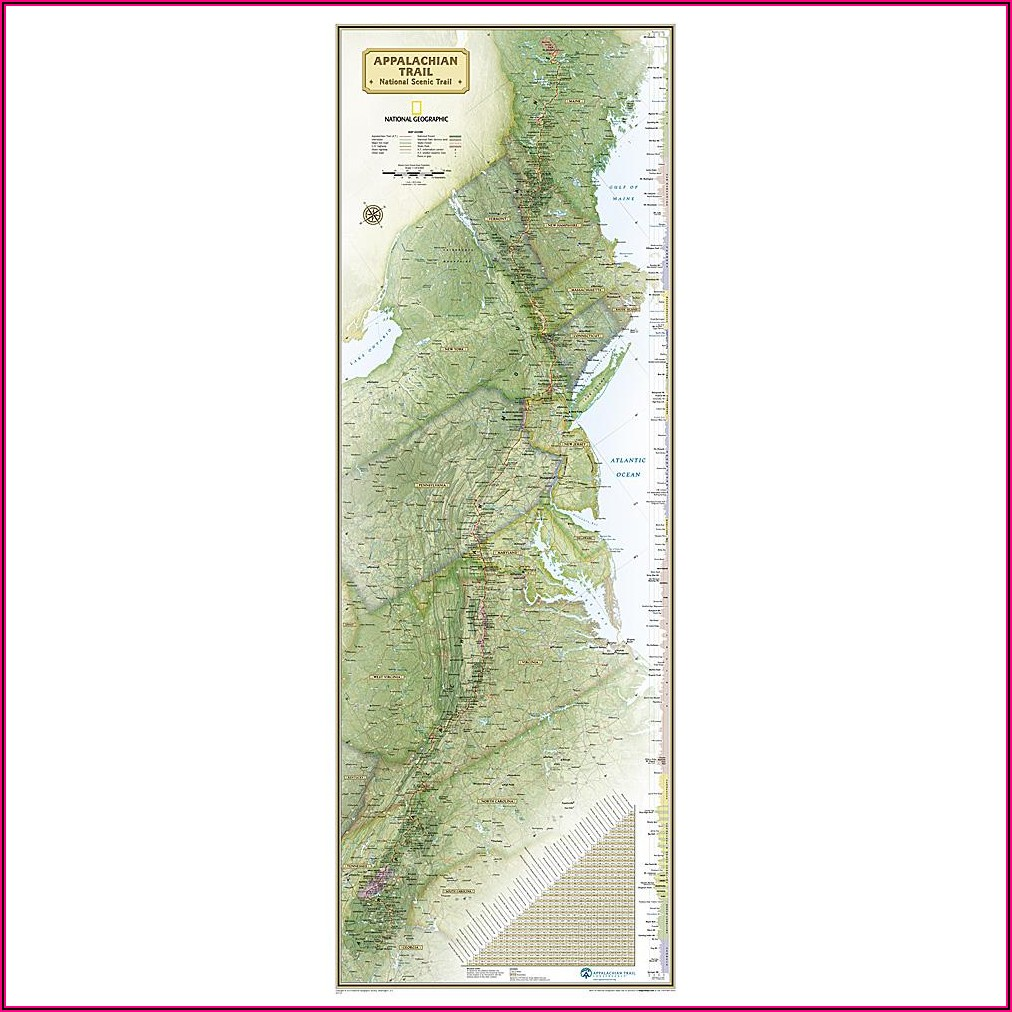 Appalachian Trail Maps For Sale