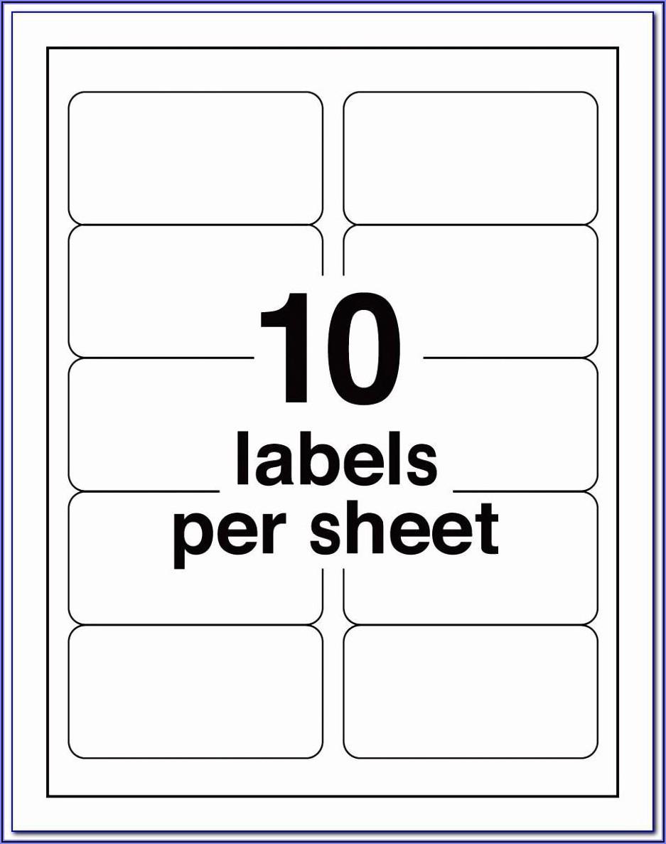 Avery 21 Label Sheet Template