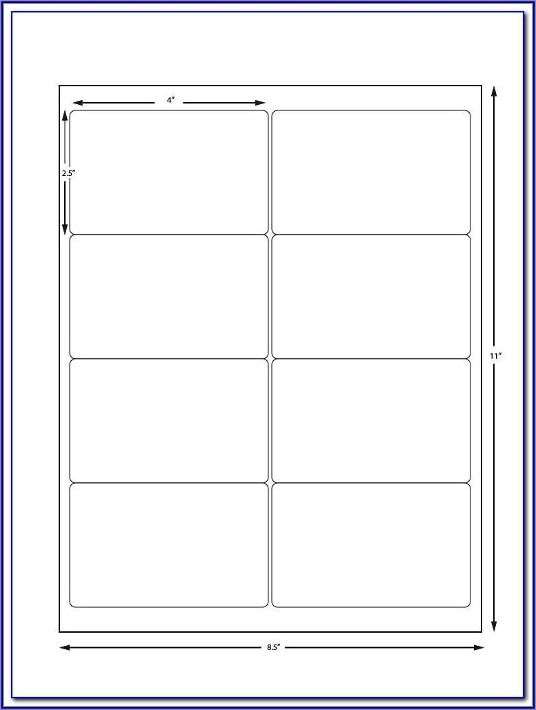 Avery Full Sheet Label Template