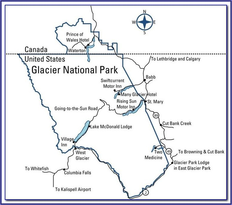 Banff National Park Trail Map Pdf