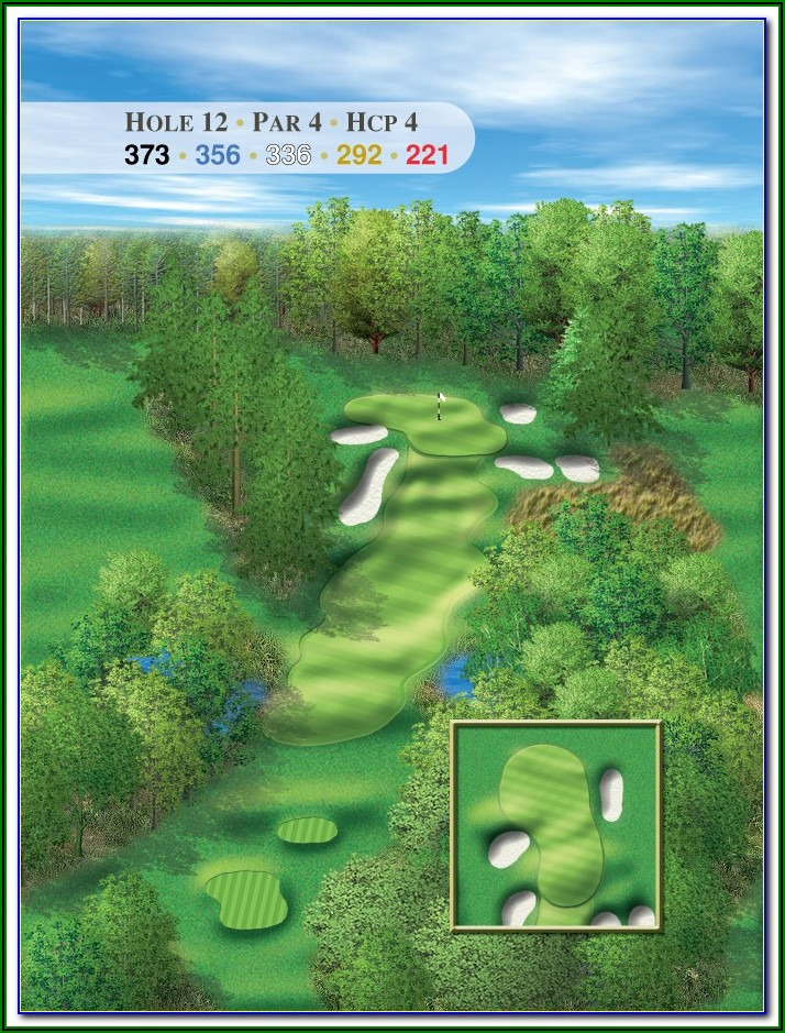 Best Michigan Golf Courses Map