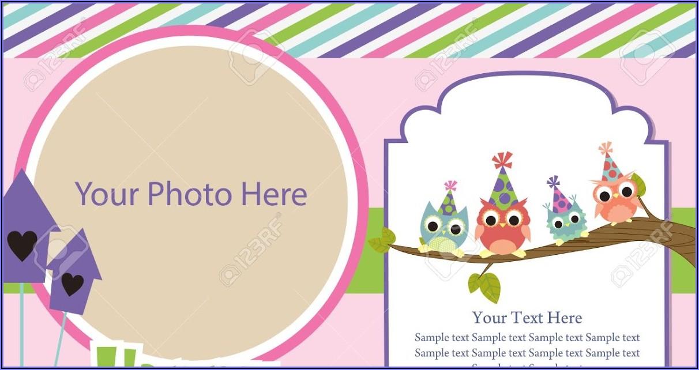 Birthday Invitation Card Sample In English