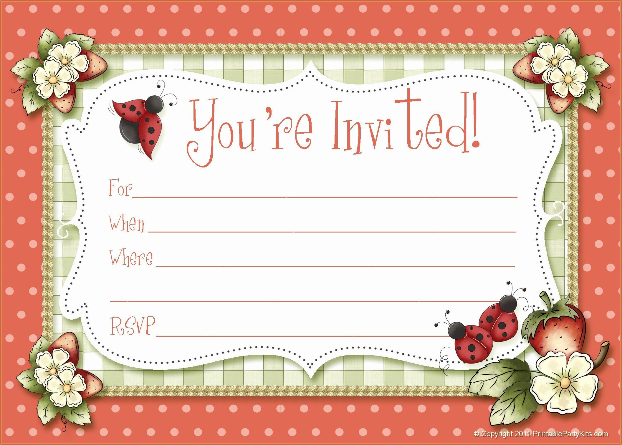Birthday Invitation Maker Free Online